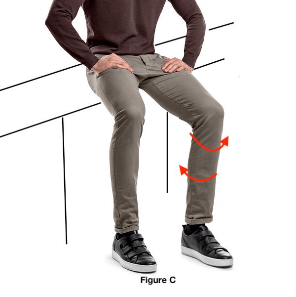 Knee function rotation