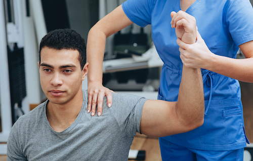 Remedy for shoulder pain