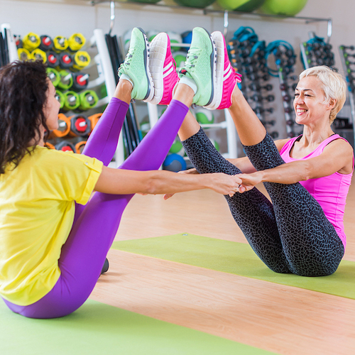 Small Pilates Group Sessions