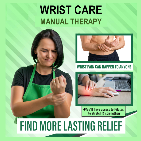 Find lasting relief from wrist pain
